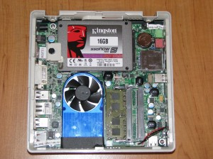 Interior of the Zotac ZBOX